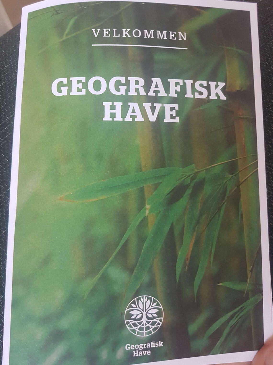 Geografisk have