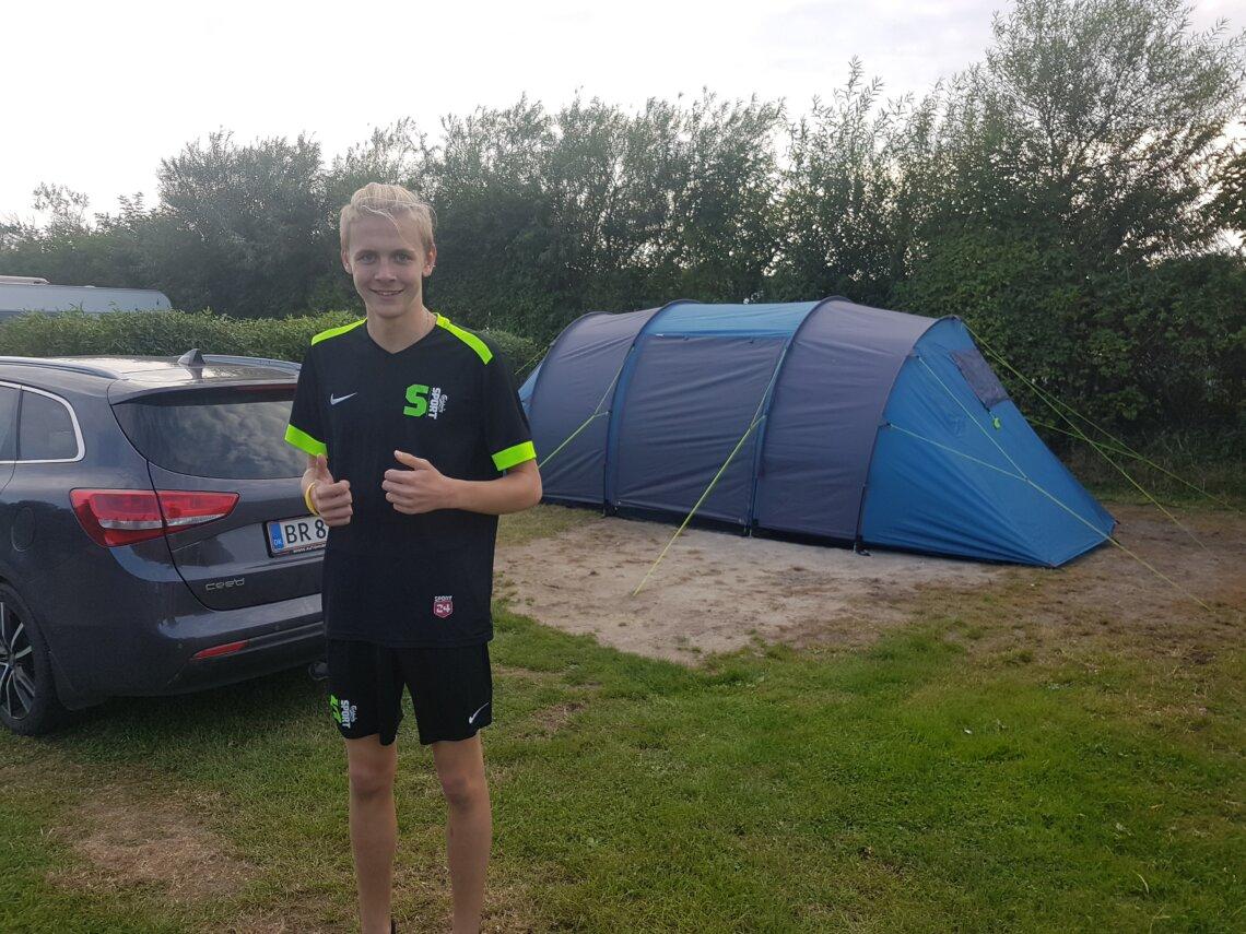 telttur, hvidbjerg strand camping